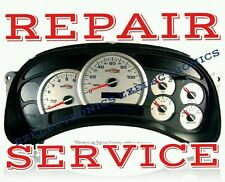 2003 2006 CHEVROLET AVALANCHE Instrument Cluster REPAIR SERVICE   CHEVY