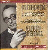 Beethoven: Sonate Für Klavier Komplette / Alfred Brendel - CD