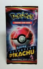 Detective Pikachu TCG Sealed Booster Pack New