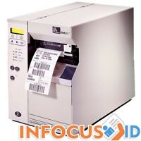 Refurbished Zebra 105SL 203 DPI Direct & Thermal Transfer Barcode/Label Printer