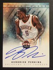 Kendrick Perkins Signed 2013 Panini Past & Present Card #20 Auto Autograph