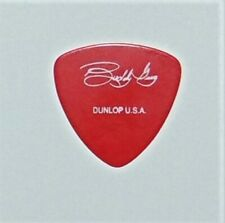 Rare BUDDY GUY Signature Guitar Pick - Vintage and Hard to Find! Blues DARK RED