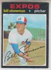 Autographed 1971 Topps Bill Stoneman - Expos