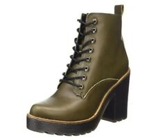 Aldo Womens Latte Ankle Boots khaki UK 5 EU 38 LN37 86