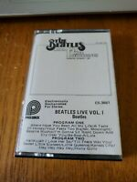 VERY RARE The Beatles 1ST LIVE RECORDINGS VOL. I  cassette tape - tested