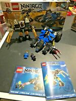 Lego Ninjago 70723 Thunder Raider 100% Complete with box and instructions