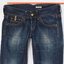 Ladies Womens Replay WV580 JANICE Slouch Blue Jeans W28 L32 UK Size 8
