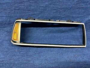 1990 1991 Oldsmobile 88 Eighty Eight RIGHT Head Light Bezel side light Silver