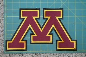 LARGE Minnesota Golden Gophers Throwback College Hockey Jersey Patch Crest