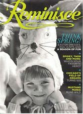 Reminisce Apr/May 2014 Magazine Back Issue EASTER Dresses, MUSTANGS & HEREOS