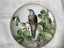 Cuckoo Wild Birds Of The World Plate Wilhelm Beuhler Limoges Franklin Mint