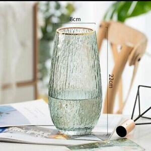 Transparent Glass Vase Modern Home Terrarium Flower Plant Living Room Decoration