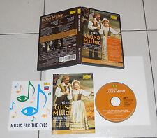Dvd Giuseppe Verdi LUISA MILLER James Levine Placido Domingo Renata Scotto