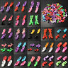 80X Fashion Dolls High Heels Shoes Boots Sandals For Barbie Dolls Outfit Dress