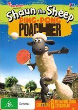 Shaun The Sheep - Ping Pong Poacher : NEW DVD