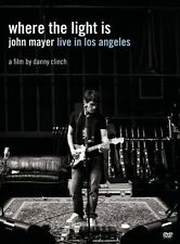 JOHN MAYER Where The Light Is Live In Los Angeles DVD BRAND NEW NTSC Region 0