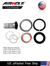 "1-1/8"" to 1-1/2"" Bicycle Headset Expander w/ Carbon Top Cap for Road & MTB Bike"