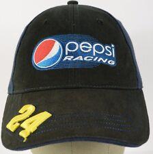 Black Pepsi Racing #24 NASCAR baseball hat cap embroidered adjustable