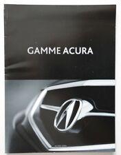ACURA Full Line 2006 RL MDX TL TSX RSX dealer brochure catalog - French - Canada