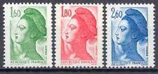Francia 1982 Yvert nº 2219/23 Básica Libertad de Delacroix