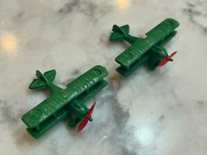 Vintage 1963 Milton Bradley Dogfight Game Part 2 Planes US German Lot