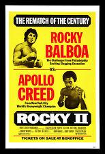 POSTER A4 -- 2 ROCKY BALBOA vs. Creed (Blu-Ray DVD FILM SILVESTRO Stallone)