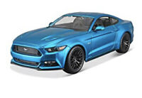 Maisto 2015 Ford Mustang GT 5.0 Blue Metallic 1:18 Special Edition Exclusive