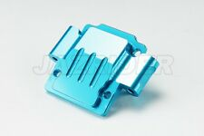 Jazrider Aluminum Front Lower Gearbox Cover(Blue) For Tamiya RC TA01/TA02/DF01