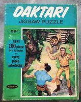 Vintage Daktari Jigsaw Puzzle 100 Pieces Whitman Publishing 1967