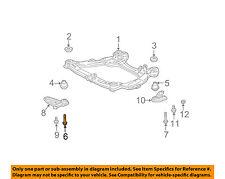 TOYOTA OEM Front Suspension-Engine Cradle Bolt 9008011723