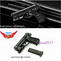 QSZ92 1/6 Semi-automatic Pistol Gun guns weapon Model Toy For action figure Gift