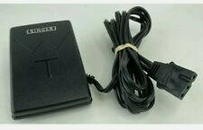 Singer Model Gte Sewing Machine Foot Pedal Speed Controller, Black 3 Pin - Oem