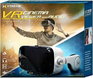 Xtreme VR Cinema Viewer With Audio. Virtual Reality Headset. Brand New & Sealed
