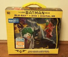 NEW DC THE LEGO BATMAN MOVIE BLU RAY DVD DIGITAL HD  WALMART EXCLUSIVE LUNCHBOX