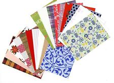 20 x A7 BACKING PAPERS, CARD, VELLUM ETC - CARD MAKING & SCRAPBOOKING *free p&p*