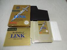 Zelda 2 Link's Adventure nes juego completo con embalaje original y guía