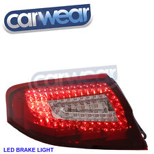 OEM STYLE CLEAR RED LED TAIL LIGHTS SUITS PORSCHE 911/ 996 TURBO CARRERA 99-04