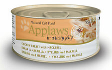 Applaws Natural 70g Tinned Cat Food Chicken And Mackerel In Jelly High Protein
