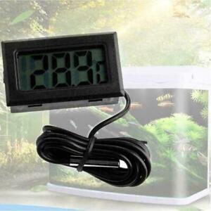 New Digital LCD Fish Tank Aquarium Marine Water Thermometer US Temperature K0A7