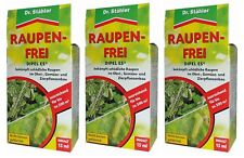 Oleanderhof® Sparset: 3 x DR. STÄHLER Dipel ES Raupenfrei, 15 ml + gratis Oleand