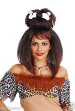 Short Bob Mermaid Pop Star Super Model Pink Red Clown Curly Wig Fancy Dress Wigs