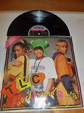 "TLC - Ain't 2 Proud 2 Beg - 1992 UK 5-track 12"" Vinyl Single"