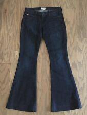 HUDSON Ferris Flare Flap Pocket In London Dark Wash Jeans W508DCB - Size 26
