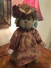 Bearington Collection Rachell #1504 2004 14� Plush Bear Fall Rust Outfit �Nwt�