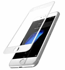 Full Coverage Color Tempered Glass Screen Protector For iPhone 6 7 Plus 8 Plus X