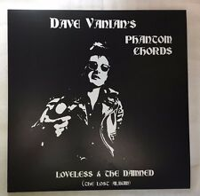 "Dave Vanian's Phantom Chords ""Loveless & Damned"" lp vinyl ~ clash dolls sex punk"