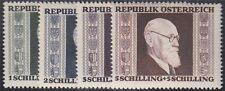Österreich 1946 Michel Nr. 772-775 A Karl Renner postfrisch