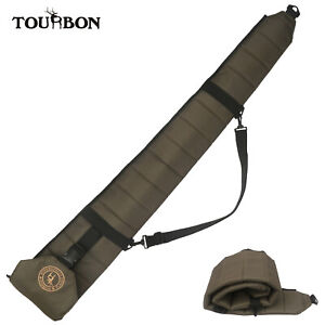 Tourbon Hunting Shooting Tactical Shotgun Case 52 inch Soft Gun Bag Foldable US