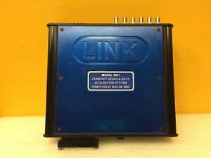 Link 3801 8 Analog CH, 6 Encoder CH, Compact Vehicle Data Acquisition System