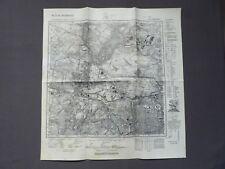 Landkarte Meßtischblatt 3445 Spandau, Charlottenburg, Tegel, Jungfernheide, 1945